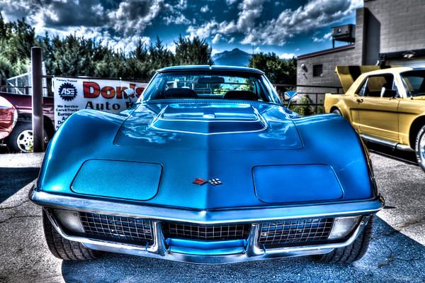 John Randall - blue 71 LT-1 Corvette