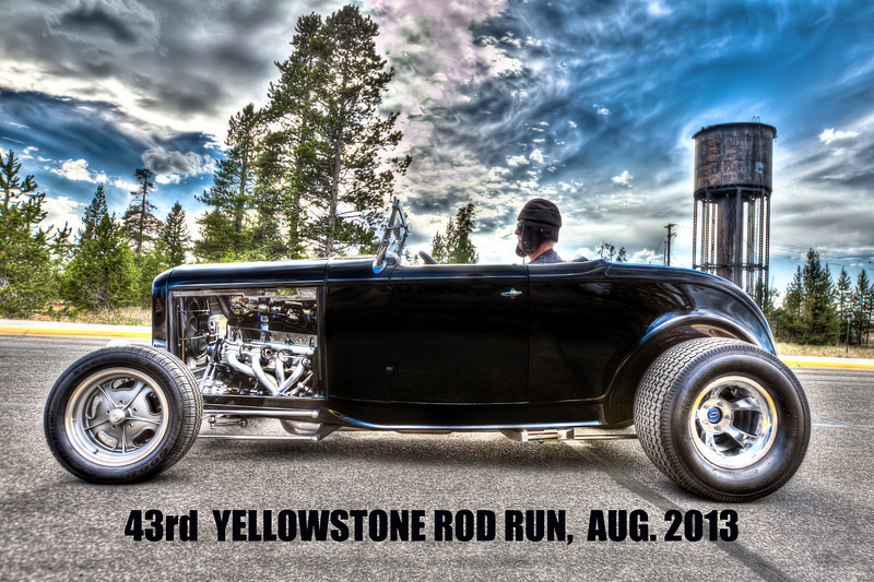 1932 FORD BROOKVILLE HIBOY- cup