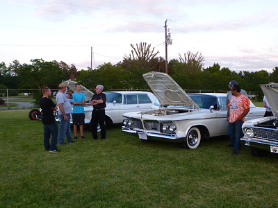 Cruise In Before the 15th Annual Car Show 2015