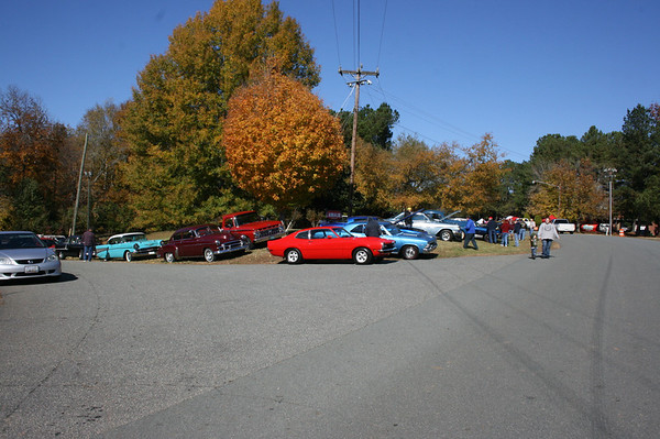 5th Annual Historic Speedway Group Car Show - Hillsborough, NC - 11/05/2011