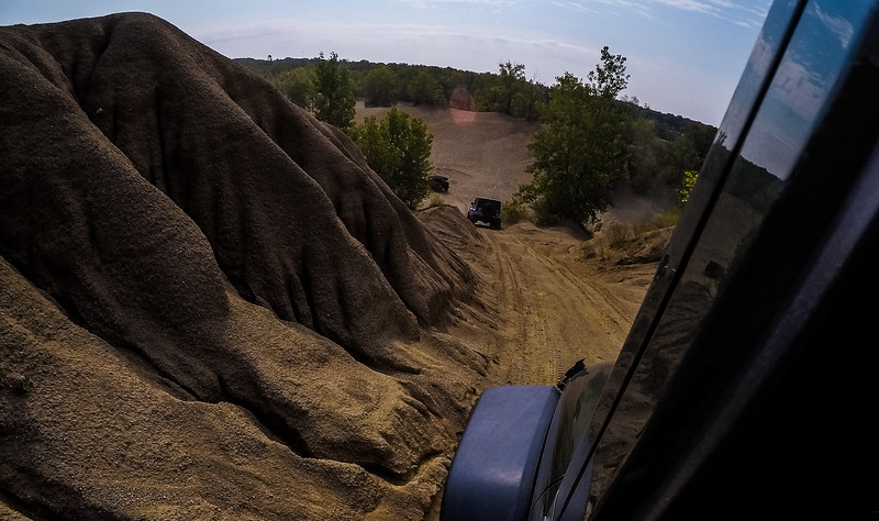 The landscape changes of the Badlands Off-Road Park is insane