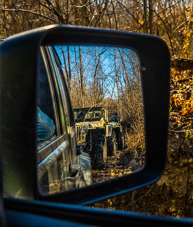 Always make sure the Jeep behind you is still there :)