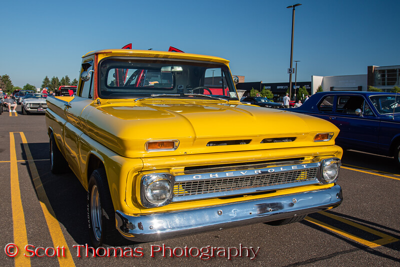 1963 Chvey Pickup Truck at Rt. 31 Cars & Coffee at Wegman's in Clay, New York on Saturday, June 20, 2020.