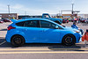 2017 Ford Focus RS photographed at the Rt. 31 Cars & Coffee near Wegmans in Clay, New York on Saturday, May 15, 2021.