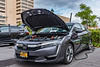 National Drive Electric Week event at City Lot 21 in Syracuse, New York on Sunday, September 15, 2019.