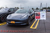 Tesla Model 3 Performance photographed at the Cars, Coffee & EVs near Wegmans in Clay, New York on Saturday, September 18, 2021.