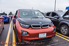 BMW i3 photographed at the Cars, Coffee & EVs near Wegmans in Clay, New York on Saturday, September 18, 2021.