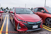 Toyota Prius Prime photographed at the Cars, Coffee & EVs near Wegmans in Clay, New York on Saturday, September 18, 2021.