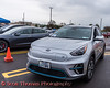 Kia Niro EV photographed at the Cars, Coffee & EVs near Wegmans in Clay, New York on Saturday, September 18, 2021.