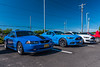 Syracuse Shelby Mustang Club members at the McDonald's in Camillus, New York before the June 2020 Cruise on Sunday, June 14, 2020.