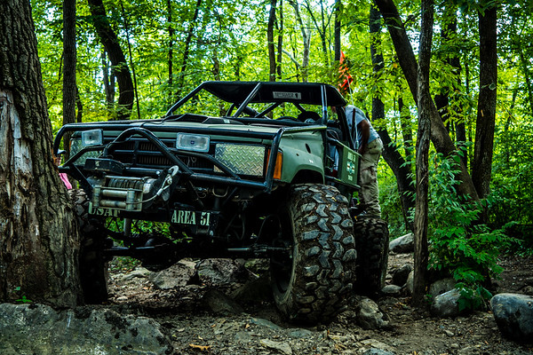 Pulled it off and hit the trails