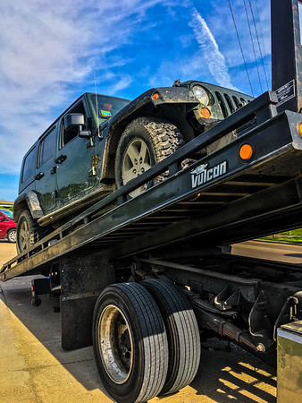 Getting towed to local dealership