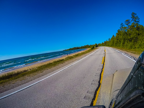 Back on the road taking HWY 2 - Great road to drive!