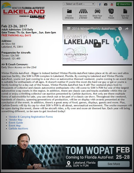 2016-02-28_Carlisle Auto fest Winter,Lakeland,Fl_Carisle Auto Fest,Lakeland,Fl