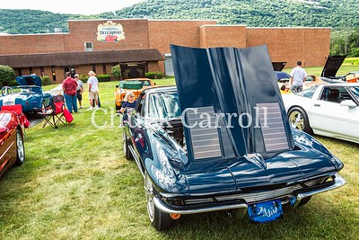 Altoona Corvette Club  Car Show at DelGrosso's  Amusement Park, Tipton, PA