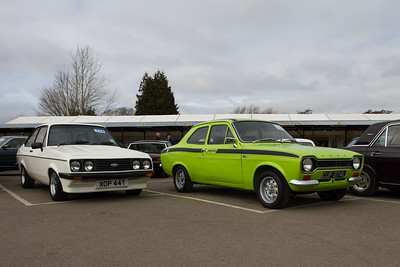 1979 Ford Escort RS2000 Mk II and 1973 - Ford Escort 1600 Mexico Mk I
