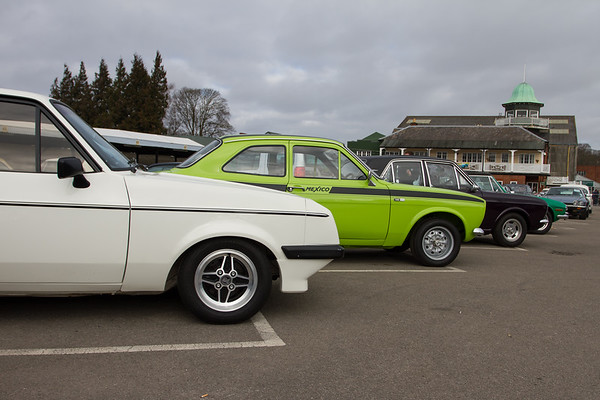 1979 - Ford Escort RS2000 Mk II and  - Ford Escort 1600 Mexico Mk I