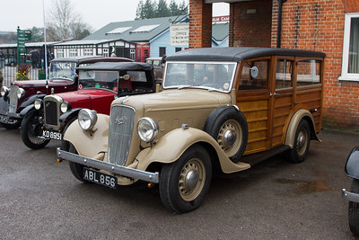 Austin Six 'Woodie'