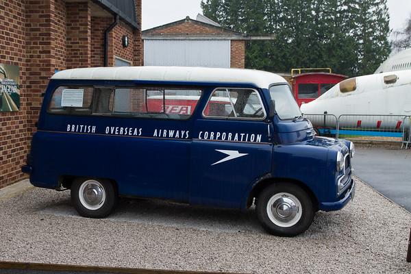 1960 - Bedford CA BOAC Crew Bus