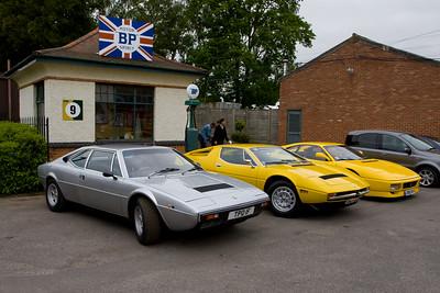 Ferrari Dino 208 GT4 - Maserati Merak - Ferrari F355 Berlinetta