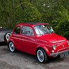 Fiat 500 and Matching Trailer