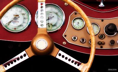 1952 MG Dashboard
