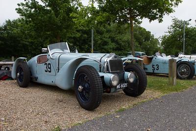 1937 - Delage D6  Course