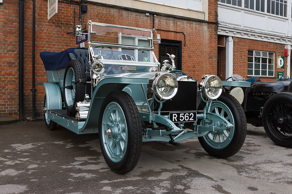 "1908 - Rolls-Royce 40/50Hp Silver Ghost  ""The Silver Dawn"""