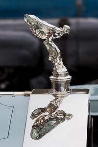 """Flying Lady Car Mascot on 1908 - Rolls-Royce 40/50Hp Silver Ghost  """"The Silver Dawn"""""""