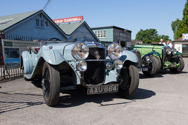 1934 - Alvis Speed 20 SB