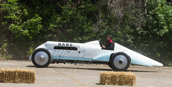 1923 - Leyland Thomas Special 'Babs' - Land Speed Record Car