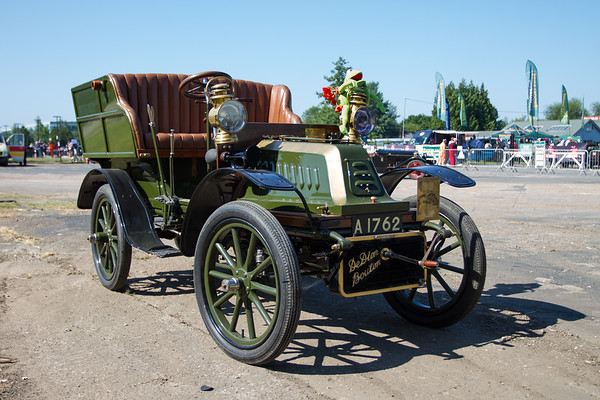 1904 De Dion Bouton 8hp Rear-entrance Tonneau Body