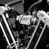 J.A.P Motorbike Engine on Morgan Car
