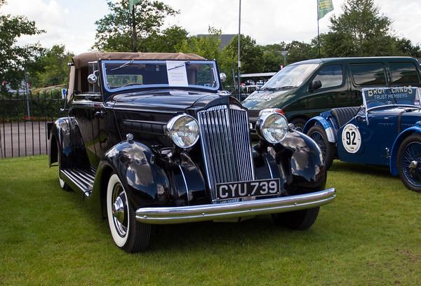 1936 - Packard 120 Sedanca Coupe