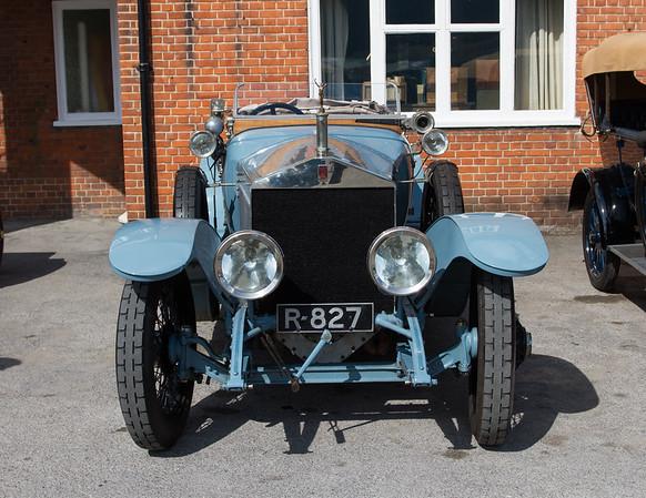 1913 Rolls-Royce Silver Ghost Alpine Tourer