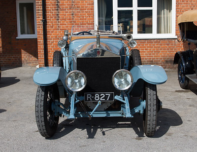 1913 - Rolls-Royce Silver Ghost Alpine Tourer