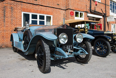 1913 - Rolls-Royce Silver Ghost Alpine Tourer