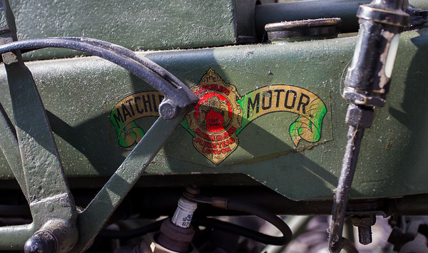 1917 - Matchless with Vickers machine gun carrier Motorcycle Combination
