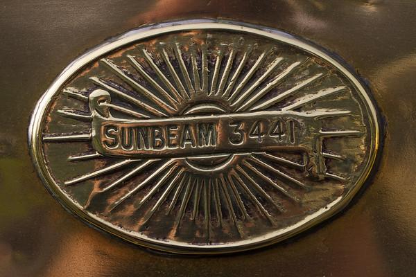 Sunbeam Car Badge