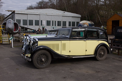 1934 - Talbot 95 Six Light Saloon