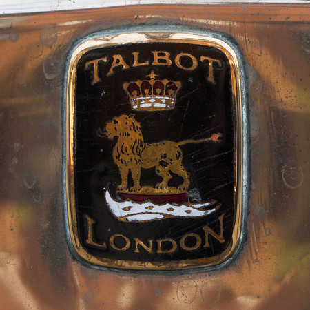 1923 - Talbot 08-18 DH Coupe Badge
