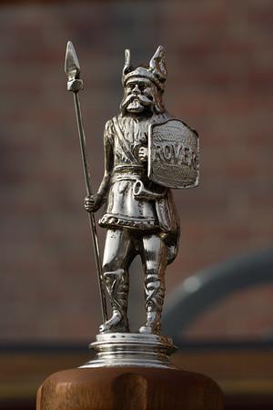 Rover Standing Viking Mascot