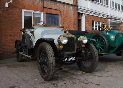 1913 Talbot 12 2CT Two-seater Body