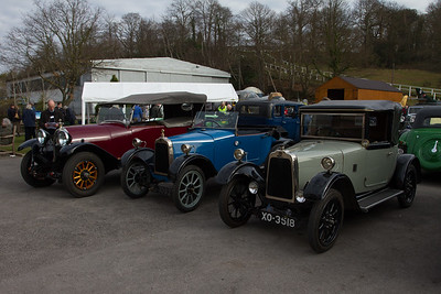Line of Talbot and Darracq Cars