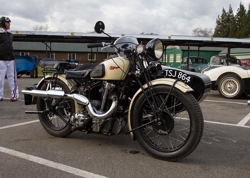 Calthorpe 500cc M4 Ivory
