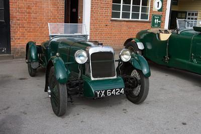 1928 Alvis FWD TT