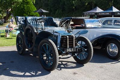 1902 - Napier 12hp Tonneau