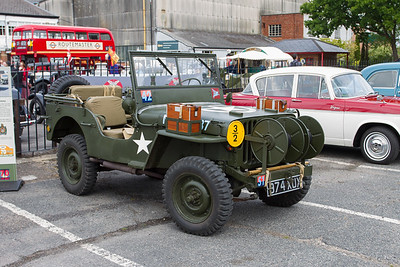 Willys Airborne Signals Jeep