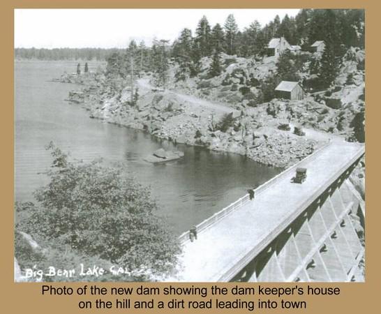 Big Bear Lake Dam