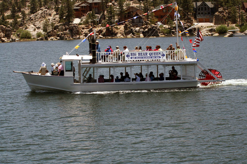 Big Bear Lake Paddle Wheel Boat